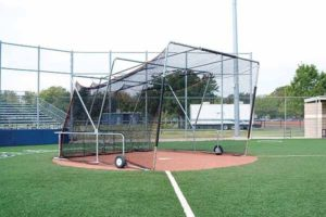 358SS - Foldable, Portable Batting Cage Image