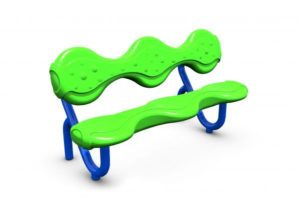 68126 - Drizzle Bench with Back Image