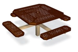 """SF-175 - Single Ped Table 46"""" Smt Image"""