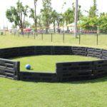 outdoor gaga ball pit