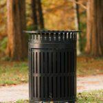 Site amenities - trash receptacle