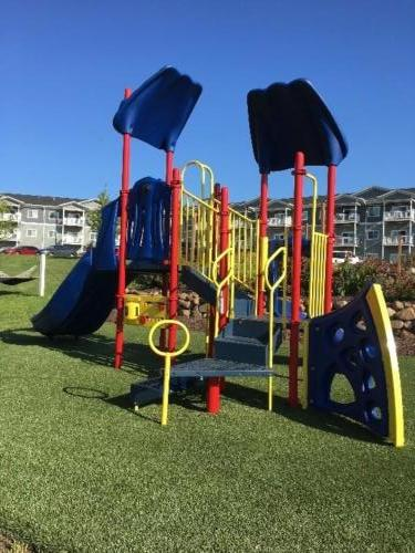 Commercial playground and artificial turf surface - Pine Apartments